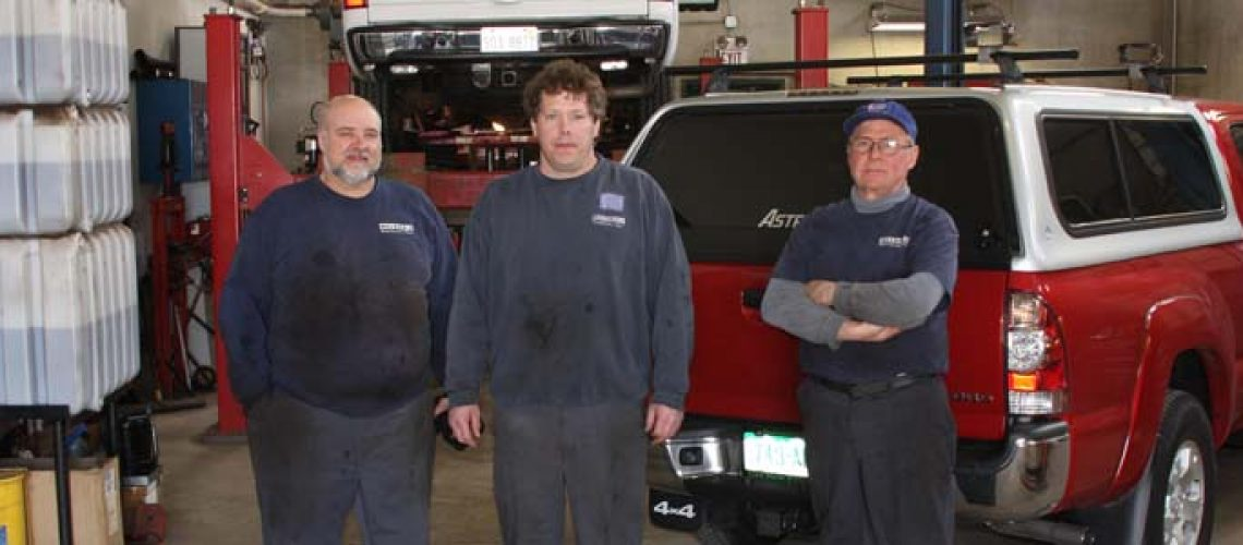 Nelson Automotive repair team